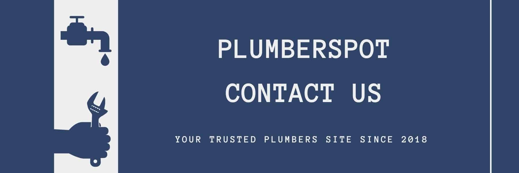 Plumberspot Contact Us Page